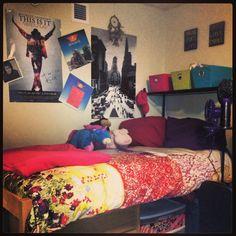 College dorm!