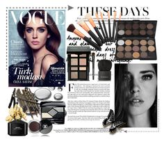 """Dark beauty - Contest!"" by asia-12 ❤ liked on Polyvore featuring beauty, Christian Dior, Chanel, Bobbi Brown Cosmetics, Marc Jacobs and Givenchy"