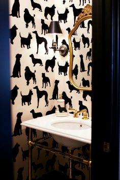 ROOMS WE LOVE: 7 Ways to Wallpaper | Rue