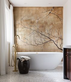 Get beautiful, tranquil bathroom decorating ideas from these spa-like bathrooms, from soaker tubs to heated floors, rain showers and more.