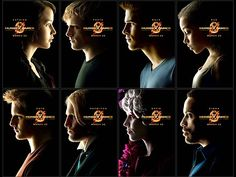 Hunger Games Posters -- I'd hang these next to my imaginary pinball machines in my fantasy game room.