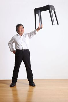 CF STOOL by Toshiyuki Kita