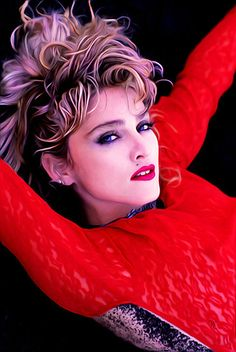 Madonna Looks, Lady Madonna, Madonna Material Girl, Material Girls, 1980s Madonna, Clairol Hair Color, Madonna Photos, St Style, Hair St