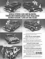 Subaru GF Hardtop 1976 Ad Picture