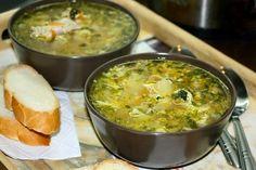 Вкусные рецепты: Куриный суп с яйцом