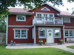 Scandinavian Home, House Colors, Country Style, Sweet Home, Villa, Traditional, Mansions, Interior Design, House Styles