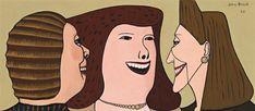 John Brack ~ Three Women, 1952