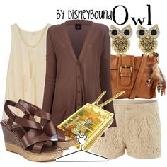 """""""Owl"""" by lalakay on Polyvore disney"""