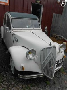 Citroen 2cv 1962 style traction avant