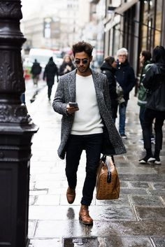 Street Fashion Inspiration & More Details That Make the Difference http://www.99wtf.net/trends/jackets-urban-fashion-men/