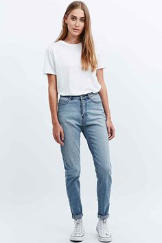 "Cheap Monday – Jeans ""Donna"" in Mittelblau"