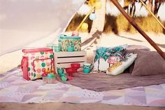 Colourful picnic accessories are must haves this season!