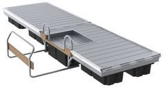 The Easy Launch kayak and canoe dock system.