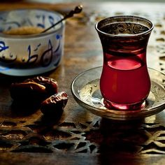 Glorious (and beyond sweet) tea rituals in the Middle East. Arabic Tea, Arabic Coffee, Turkish Tea, Tea Culture, Arabic Sweets, Middle Eastern Recipes, My Tea, Tea Ceremony, Sweet Tea