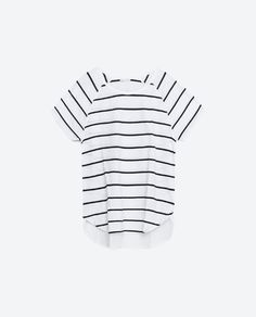 Image 6 of T-SHIRT WITH CONTRAST BACK from Zara