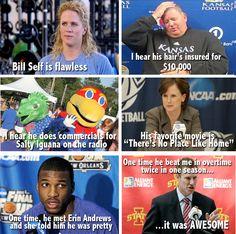 Bill Self is flawless....