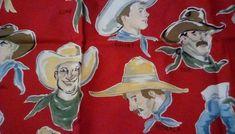 Fabric,Cowboy BUCKAROOS-Alexander Henry Fabric, Philip Dr Leon 1/2 yard #AlexanderHenry