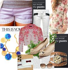 """Floral"" by iamabhishiktar on Polyvore"