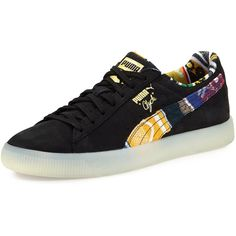 Puma x COOGI Men s Clyde Suede Low-Top Sneaker (367.510 COP) ❤ liked 221b750a3