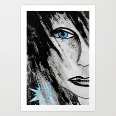 We are Who we are  Art Print by sladja - $22.88