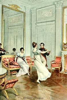 Napoleon and Josephine Empress Josephine, Napoleon Josephine, Napoleon French, Jane Austen, First French Empire, La Malmaison, Country Dance, French History, Regency Era