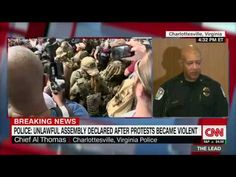 Charlottesville police chief defends response to white nationalist rally violence (entire remarks) - YouTube