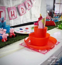 Peppa Pig theme party hire package for children in Perth, WA
