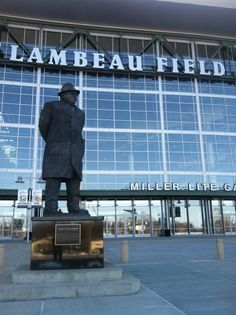 Outside honors one of football's greatest coaches, Vince Lombardi.