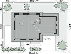 Sytuacja Dom przy Cyprysowej 4 CE