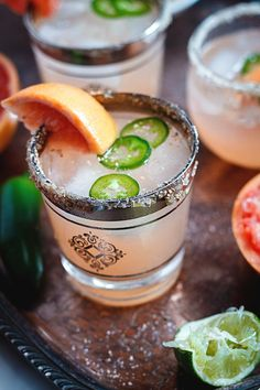 This margarita is the absolute best and easiest sweet, spicy cocktail for all your entertaining needs!
