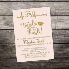 **** NOTICE ****: This listing is for the printed version of this invitation. If you wish to buy the digital file that you can print at home please