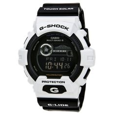 Casio GWX8900B-7 Men's G-Shock Black Dial Tough Solar Multi-Band Atomic Digital Watch
