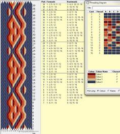 Bathilde 3D - 16 tarjetas, 4 colores, repite dibujo cada 12 movimientos // sed_140༺❁