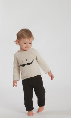 sweater moustaches