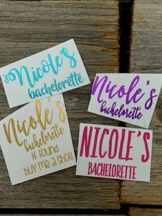 Custom Tattoo - Temporary Tattoos  Sparkle everywhere! You and your bridal party will shine with pride and these tantalizing tattoos. Marriage is forever, but these tattoos are just for the celebrations! Get all your girls glowing!