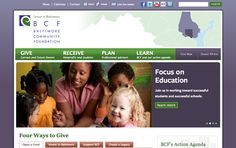 Baltimore Community Foundation redesign