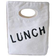 Organic Cotton Lunch Bag