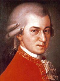 Wolfgang Amadeus Mozart- ( 27.Januar 1756- 5.Dezember 1791 ) war ein Komponist der Wiener Klassik.