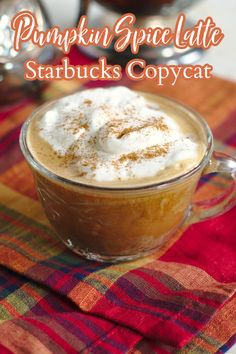 Pumpkin Spice Latte {Starbucks Copycat} – Save money and make this Starbucks copycat recipe at home! Made with just a few simple ingredients and it tastes delicious! Starbucks Copycat Recipe | Pumpkin Spice Latte | Pumpkin Spice Latte Recipe Drink Recipes Nonalcoholic, Summer Drink Recipes, Easy Drink Recipes, Copycat Recipes, Yummy Drinks, Fall Recipes, Dessert Recipes, Diet Desserts, Starbucks Pumpkin Spice Latte