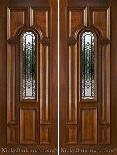 Front Doors : Inspirations Front Door Double 91 Double Front Door Handles And Locks Double Front Entry Door Splendid Front Door Double. Double Glazed Front Door With Side Panel. Double Doors Exterior, Wood Exterior Door, Double Door Design, Front Door Design, Double Wide Home, Double Front Entry Doors, Front Door Handles, House Front Door, Link