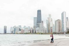 Andy + Paige | Engaged | An Iconic Downtown Chicago, Illinois Engagement Session at North Avenue Beach + Lincoln Park. — maisonmeredith photography