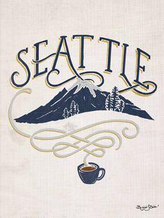 Seattle + Coffee