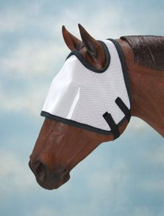 Fly Bonnet Without Ears Yearling/Pony by JT. $11.02. Quick grip closure with fleece edging.