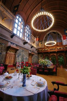 Biltmore House Banquet Hall. I'm in love with this house.