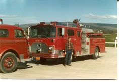 Ready to put the 1975 Mack in service. We sold the American LaFrance to a fire chief in a nearby town. (Roger Johnson)