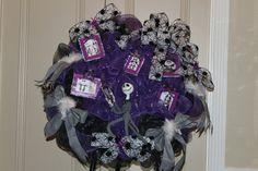 Halloween Wreath OOAK Handmade no other by LindasAtticEmporium, $239.00