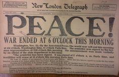 Armistice Day 11 November 1918