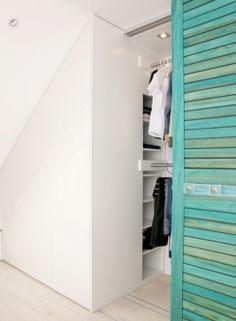 Schrank in der Dachschräge - Komfortabel erreichbar