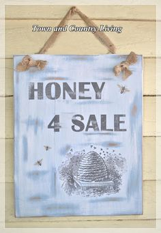 A Little Bit o' Honey for Sale  How to Transfer Graphics with Mod Podge    http://townandcountryliving.blogspot.com/2012/07/a-little-bit-o-honey-for-sale.html