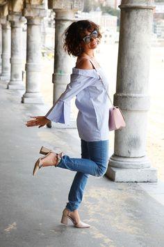 Looks con zapatos rosa palo - Trendtation